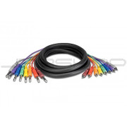 "Hosa CPR-803 8-Ch Snakes RCA to Unbalanced 1/4"" (M) 3m"