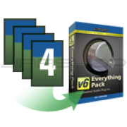 McDSP Upgrade Any 4 HD plug-ins to Everything Pack HD v6.4