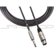"""Audio Technica AT8311-25P3 XLRF-1/4"""" For mics with XLR output and pin 3 hot; 25'"""