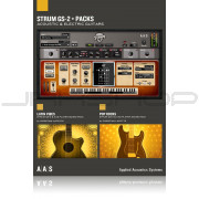 AAS Applied Acoustics Systems Strum GS-2 + Packs Bundle