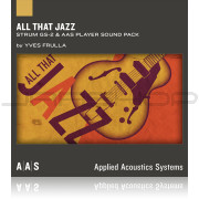 AAS Applied Acoustics Systems All That Jazz Sound Pack for Strum GS-2