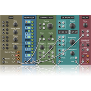 AAS Applied Acoustics Systems Multiphonics CV-1 Modular Synthesizer Plugin