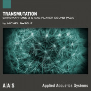 AAS Applied Acoustics Systems Transmutation Sound Pack for Chromaphone