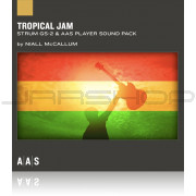 AAS Applied Acoustics Systems Tropical Jam Sound Pack for Strum GS-2