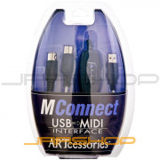 ART MConnect USB to MIDI Interface Cable
