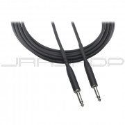 """Audio Technica AT8390-15 Instrument cable, 1/4"""" - 1/4"""" phone plug, 15'"""