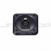 Audio Technica AT8646QM Microphone shock-mount plate, XLRF-type connector mount