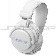 Audio Technica ATH-PRO5XWH Closed-back, over-ear DJ headphones, white