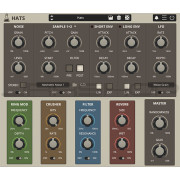 AudioThing Hats HiHats and Cymbals Synthesizer Plugin