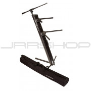 Ultimate Support AX-48 Pro Plus Apex Column Keyboard Stand w/ Mic Boom and Bag