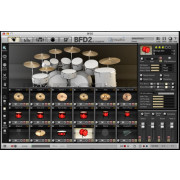 Sonic Reality Neil Peart Drums Vol.1: The Kit for BFD 2