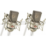 Neumann TLM 103 ST Pair Set EA 1 Shock Mount and Woodbox