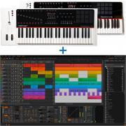 Bitwig Studio + Nektar Panorama P6 61-Note Keyboard Combo