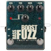 Tech 21 Bass Boost Fuzz Metallic Effect Pedal