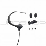 "Audio Technica BP893CLM3 MicroEarset omnidirectional condenser headworn microphone with 55"" cable terminated"