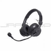 Audio Technica BPHS2-UT Broadcast stereo headset with hypercardioid dynamic boom microphone, unterminated