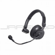 Audio Technica BPHS2S Single-ear broadcast headset with hypercardioid dynamic boom microphone