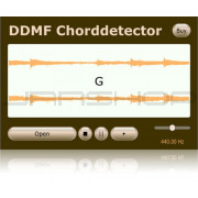 DDMF Chorddetector Automatic Chord Detection Plugin