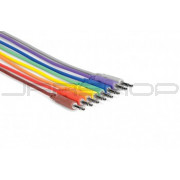 Hosa CMM-830 Unbalanced Patch Cables 1 ft