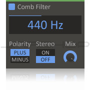 Kilohearts Comb Filter Plugin