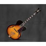 D'Angelico EXL-1 Archtop Jazz Guitar with Hardshell Case - Vintage Sunburst