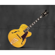 D'Angelico EXL-1 Archtop Jazz Guitar with Hardshell Case - Natural