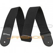 DiMarzio Woven Cotton DD3100C Guitar Straps - Black