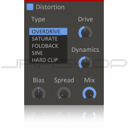 Kilohearts Distortion Plugin