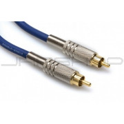 Hosa DRA-501 Gold-Plated RCA S/PDIF Cable 1m