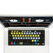 Editors Keys: Serato Cover for MacBook Pro
