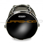 "Evans 18"" Black Chrome Tom Head"