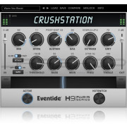 Eventide CrushStation Overdrive Distortion Multi FX Plugin