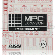 Akai F9 Instruments Collection MPC Expansion