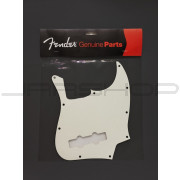 Fender Jazz Bass 3 Ply Parchment Pickguard