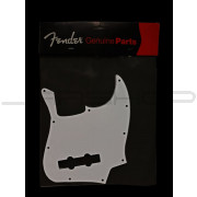 Fender - Pickguard White 70's Jazz Bass