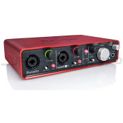 Focusrite Scarlett 2i4 USB Audio Interface - Open Box