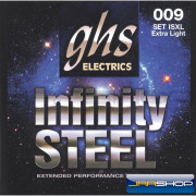 GHS ISXL Infinity Steel Electric Guitar Strings - Extra Light