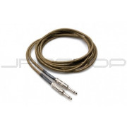 Hosa GTR-518 Tweed Guitar Cable Straight to Same, 18 ft