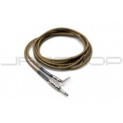 Hosa GTR-518R Tweed Guitar Cable Straight to Right-angle, 18 ft