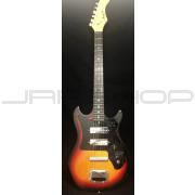 Harmony H-802 Sunburst Electric Guitar Used