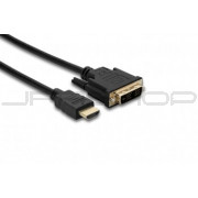 Hosa HDMD-410 Standard Speed HDMI Cable, HDMI to DVI-D, 10 ft