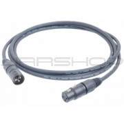 Hosa MMK-015 Mic Cable: XLR (M) to (F) 15 ft.