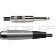 "Hosa PXF-302 Pro XLR (F) to Unbalanced 1/4"" (M) 2 ft."