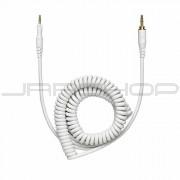 Audio Technica HP-CC-WH 1.2m-3m (3.9'-9.8') coiled (white) replacement cable for ATH-M50xWH headphones