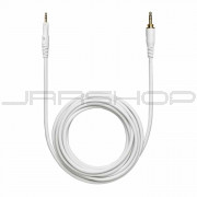 Audio Technica HP-LC-WH 3 m (9.8') straight (white), replacement cablefor ATH-M50xWH