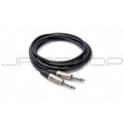 Hosa HPP-001.5 Pro Unbalanced Interconnect, REAN 1/4 in TS to Same, 1.5 ft
