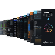 iZotope Music Production Suite 4 Upgrade from Any Advanced, MPS 1-2, or MPB 1-2