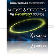 iZotope Kicks and Snares by BeatPort Sounds Expansion Pack for BreakTweaker