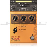 Kuassa OD3603 Overdrive FX Engine Plugin