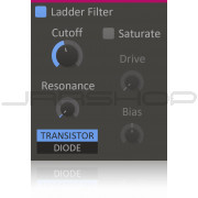 Kilohearts Ladder Filter Plugin